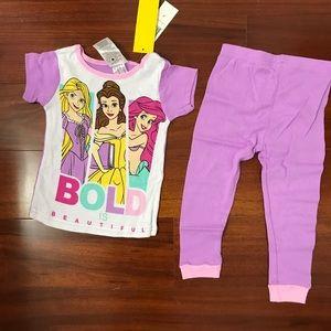 Disney Princess Pajama Set